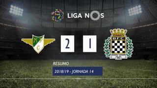 I Liga (14ªJ): Resumo Moreirense FC 2-1 Boavista FC