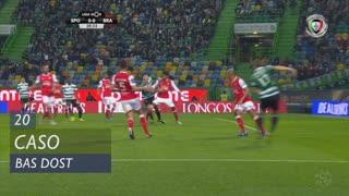 Sporting CP, Caso, Bas Dost aos 20'