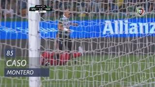 Sporting CP, Caso, Montero aos 85'