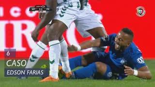 CD Feirense, Caso, Edson Farias aos 6'