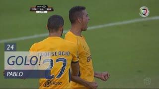 GOLO! SC Braga, Pablo aos 24', Santa Clara 0-1 SC Braga
