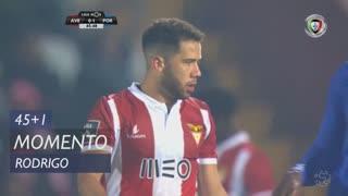 CD Aves, Jogada, Rodrigo aos 45'+1'