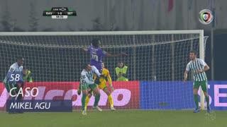 Vitória FC, Caso, Mikel Agu aos 58'