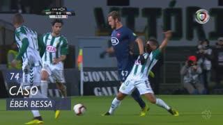 Vitória FC, Caso, Éber Bessa aos 74'