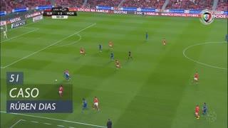 SL Benfica, Caso, Rúben Dias aos 51'