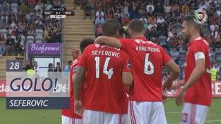GOLO! SL Benfica, Seferovic aos 28', CD Nacional 0-1 SL Benfica