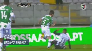 Portimonense, Caso, Bruno Tabata aos 18'