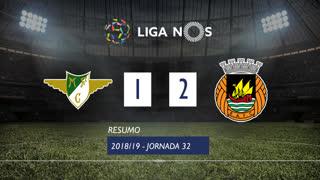 Liga NOS (32ªJ): Resumo Moreirense FC 1-2 Rio Ave FC