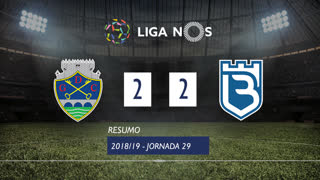 Liga NOS (29ªJ): Resumo GD Chaves 2-2 Belenenses SAD