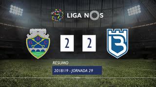 Liga NOS (29ªJ): Resumo GD Chaves 2-2 Belenenses