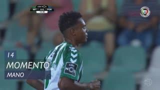 Vitória FC, Jogada, Mano aos 14'