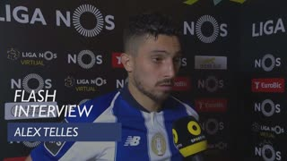 Liga (24ª): Flash Interview Alex Telles