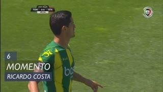CD Tondela, Jogada, Ricardo Costa aos 6'