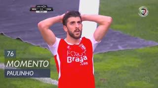 SC Braga, Jogada, Paulinho aos 76'