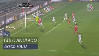 SC Braga, Golo Anulado, Dyego Sousa aos 73'