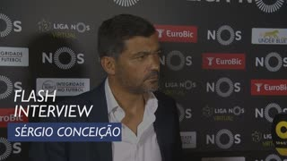 Liga (3ª): Flash interview Sérgio Conceição