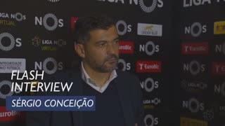 Liga (12ª): Flash interview Sérgio Conceição