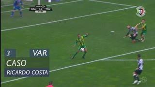 CD Tondela, Caso, Ricardo Costa aos 3'