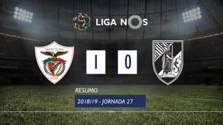 Liga NOS (27ªJ): Resumo Santa Clara 1-0 Vitória SC