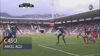 Vitória FC, Caso, Mikel Agu aos 12'