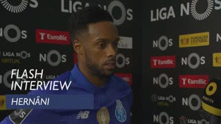 Liga (11ª): Flash interview Hernâni