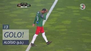 GOLO! SC Braga, Aloísio (p.b.) aos 13', SC Braga 2-0 Marítimo M.