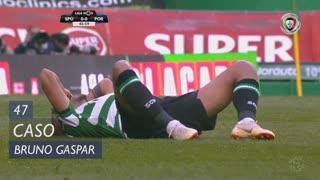 Sporting CP, Caso, Bruno Gaspar aos 47'