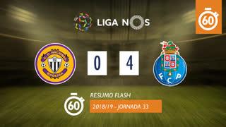 Liga NOS (33ªJ): Resumo Flash CD Nacional 0-4 FC Porto