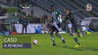 Sporting CP, Caso, R. Petrovic aos 10'