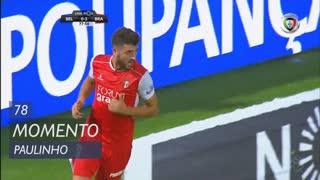 SC Braga, Jogada, Paulinho aos 78'