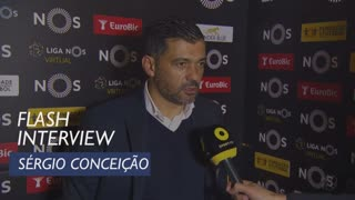 Liga (19ª): Flash interview Sérgio Conceição