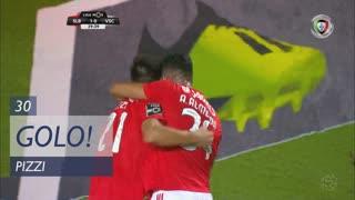GOLO! SL Benfica, Pizzi aos 30', SL Benfica 2-0 Vitória SC