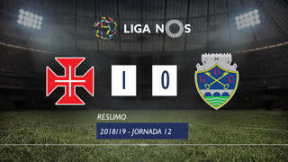 Liga NOS (12ªJ): Resumo Belenenses SAD 1-0 GD Chaves