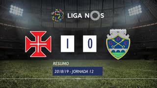 Liga NOS (12ªJ): Resumo Belenenses 1-0 GD Chaves