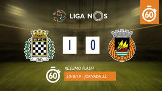 Liga NOS (23ªJ): Resumo Flash Boavista FC 1-0 Rio Ave FC