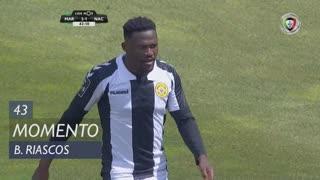 CD Nacional, Jogada, B. Riascos aos 43'