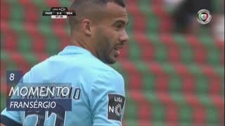 SC Braga, Jogada, Fransérgio aos 8'