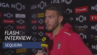 Liga (22ª): Flash Interview Sequeira