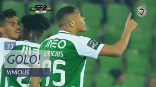 GOLO! Rio Ave FC, Vinícius aos 33', Rio Ave FC 1-0 Moreirense FC