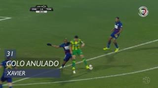 CD Tondela, Golo Anulado, Xavier aos 31'