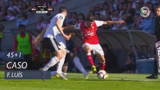 SL Benfica, Caso, Florentino Luís aos 45'+1'
