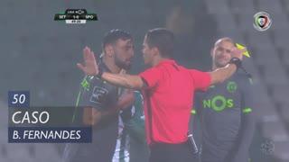 Sporting CP, Caso, Bruno Fernandes aos 50'