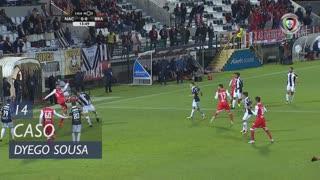 SC Braga, Caso, Dyego Sousa aos 14'