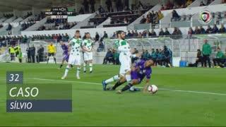Vitória FC, Caso, Sílvio aos 32'
