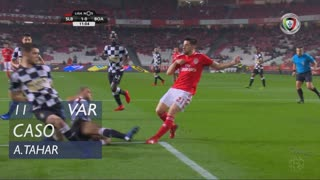 Boavista FC, Caso, A. Tahar aos 11'