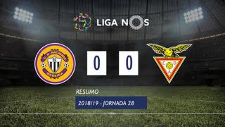 Liga NOS (28ªJ): Resumo CD Nacional 0-0 CD Aves
