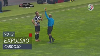 Boavista FC, Expulsão, Cardoso aos 90'+3'