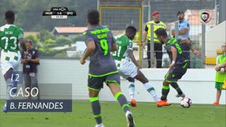 Sporting CP, Caso, Bruno Fernandes aos 12'