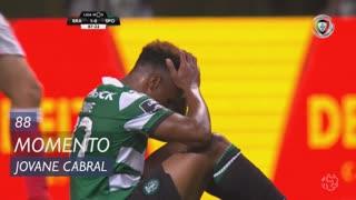 Sporting CP, Jogada, Jovane Cabral aos 88'