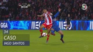 Moreirense FC, Caso, Iago Santos aos 34'